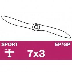 AP-07030 APC - Hélice sport - EP/GP - 7X3