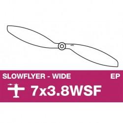AP-07038WSF APC - Hélice Slowflyer - 7X3.8WSF