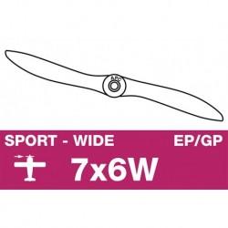AP-07060W APC - Hélice sport - EP/GP - 7X6W