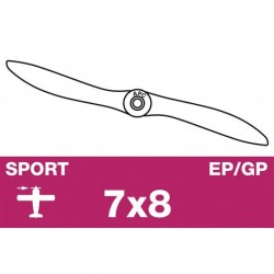 AP-07080 APC - Hélice sport - EP/GP - 7X8