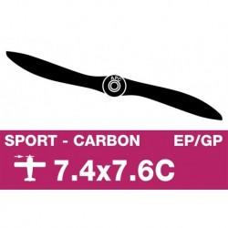 AP-07476C APC - Hélice sport - Carbon - EP/GP - 7.4X7.6C