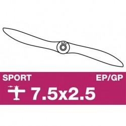 AP-07525 APC - Hélice sport - EP/GP - 7.5X2.5