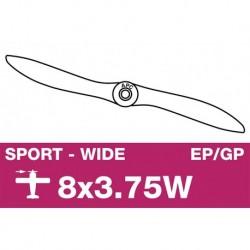 AP-08037W APC - Hélice sport - EP/GP - 8X3.75W