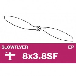 AP-08038SF APC - Hélice Slowflyer - 8X3.8SF