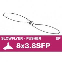 AP-08038SFP APC - Hélice Slowflyer - Propulsive - 8X3.8SFP