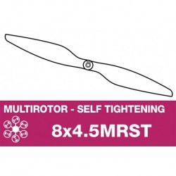 AP-08045MRST APC - Hélice multi rotor - Self Tightening - 8X4.5MR(ST)