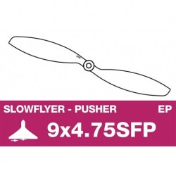 AP-09047SFP APC - Hélice Slowflyer - Propulsive - 9X4.7SFP