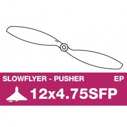 AP-12047SFP APC - Hélice Slowflyer - Propulsive - 12X4.7SFP