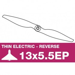 AP-13055EP APC - Hélice électrique - fine - Propulsive - 13X5.5EP