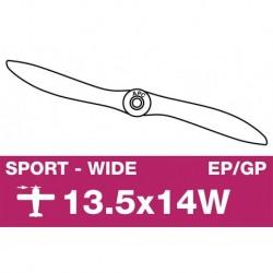 AP-13514W APC - Hélice sport - EP/GP - 13.5X14W