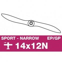 AP-14012N APC - Hélice sport - fine - EP/GP - 14X12N