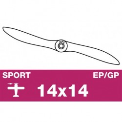 AP-14014 APC - Hélice sport - EP/GP - 14X14