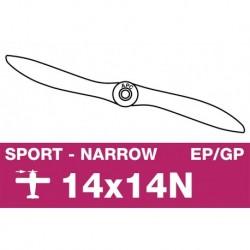 AP-14014N APC - Hélice sport - fine - EP/GP - 14X14N