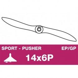 AP-14060P APC - Hélice sport - Propulsive - EP/GP - 14X6P