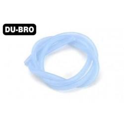 DUB553 Durite pour mélange nitro - X-Large Flux - 7.2 x 4mm - 91cm (3 ft) - bleu