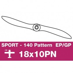 AP-18010PN APC - Hélice sport - fine - EP/GP - 18X10PN