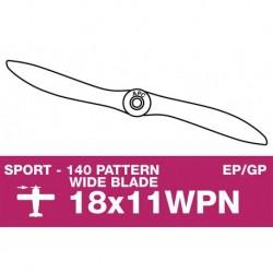 AP-18011WPN APC - Hélice sport - fine - EP/GP - 18X11WPN