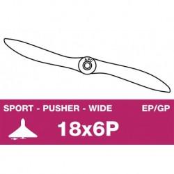 AP-18060WP APC - Hélice sport - Propulsive - EP/GP - 18X6WP