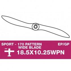 AP-1851025WPN APC - Hélice sport - fine - EP/GP - 18.5X10.25WPN