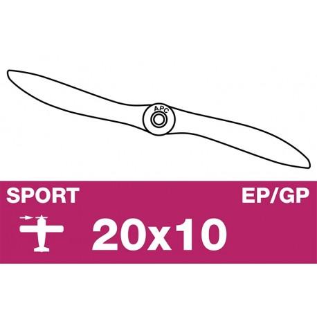 AP-20010 APC - Hélice sport - EP/GP - 20X10