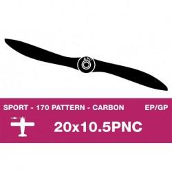 AP-200105PNC APC - Hélice sport - Carbon - fine - EP/GP - 20X10.5PNC
