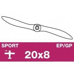 AP-20080 APC - Hélice sport - EP/GP - 20X8