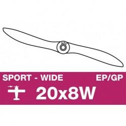AP-20080W APC - Hélice sport - EP/GP - 20X8W
