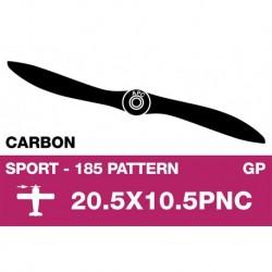 AP-205105PNC APC - Hélice sport - Carbon - fine - EP/GP - 20.5X10.5PNC