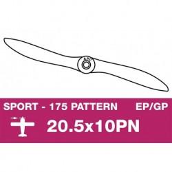 AP-20510PN APC - Hélice sport - fine - EP/GP - 20.5X10PN