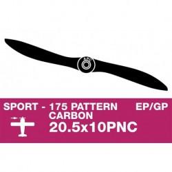AP-20510PNC APC - Hélice sport - Carbon - fine - EP/GP - 20.5X10PNC