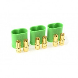 CC-011-0068-00 Castle - Polarized Bullet Connecteurs 6.5mm - Male Set
