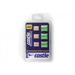 CC-011-0076-00 Castle - Polarized Bullet Connecteurs 4mm - Femelle Set