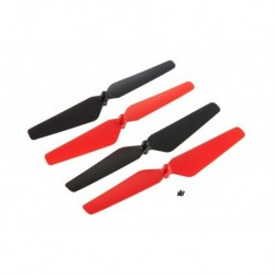 DIDE1111 Dromida - Prop Set Red Ominus Quadcopter