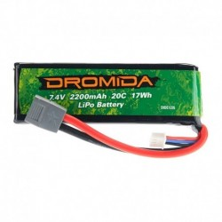 DIDE1235 Dromida - 2S, 2200mAh LiPo battery XL370