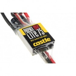 CC-010-0112-00 Castle - Phoenix Edge Lite 75 - Variateur Brushless Air-Heli haute performance - Version léger