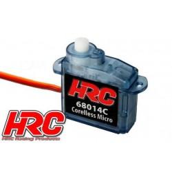 HRC68014C Servo - Analogique - Micro - 20.2x8.5x20.8mm / 4.4g - 0.7kg/cm – Coreless