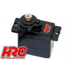 HRC68022DMG Servo - Digital - 23x12.1x23.8mm / 13g - 2.7kg/cm - Pignons métal - Etanche - Roulement à billes