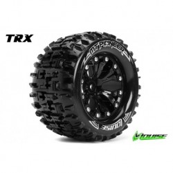 LR-T3202SB Louise RC - MT-PIONEER - Pneus 1-10 Monster Truck - Montés - Collés - Soft - Jantes 2.8