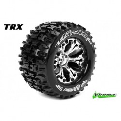 LR-T3202SC Louise RC - MT-PIONEER - Pneus 1-10 Monster Truck - Montés - Collés - Soft - Jantes 2.8