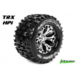 LR-T3203SCH Louise RC - MT-SPIDER - Pneus 1-10 Monster Truck - Montés - Collés - Soft - Jantes 2.8