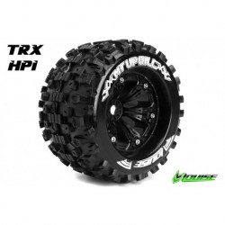 LR-T3219B Louise RC - MT-UPHILL - Pneus 1-8 Monster Truck - Montés - Collés - Medium - Jantes 3.8