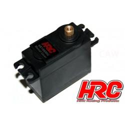 HRC68108MG Servo - Analogique - 40.2x39.5x20.0mm / 52g - 8kg/cm - Pignons métal - Etanche - Double roulement à billes