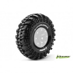 LR-T3236VI Louise RC - CR-CHAMP - Pneus 1-10 Crawler - Super Soft - pour jantes 2.2