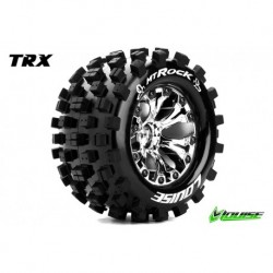 LR-T3275SC Louise RC - MT-ROCK - Pneus 1-10 Monster Truck - Montés - Collés - Soft - Jantes 2.8