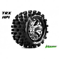LR-T3275SCH Louise RC - MT-ROCK - Pneus 1-10 Monster Truck - Montés - Collés - Soft - Jantes 2.8
