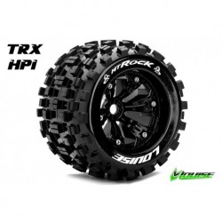 LR-T3277B Louise RC - MT-ROCK - Pneus 1-8 Monster Truck - Montés - Collés - Medium - Jantes 3.8