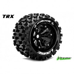 LR-T3277BH Louise RC - MT-ROCK - Pneus 1-8 Monster Truck - Montés - Collés - Medium - Jantes 3.8