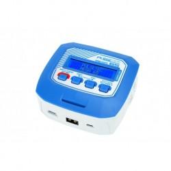 PC-019-002 Pulsetec - Charger - Mega 65 - AC 100-240V - 65W Power - 0.1-6.0A - 2-4 Li-xx - 6-8 Ni-xx - 6-12V PB