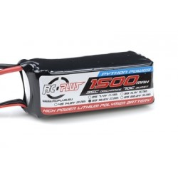 RC-A35-1500-5S1P RC Plus - Pack d'accu Li-Po - Python Power 35C - 1500 mAh - 5S1P - 18,5V - Deans connecteur