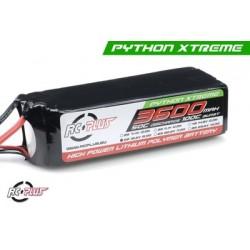 RC-A50-3600-5S1P RC Plus - Pack d'accu Li-Po - Python X-Treme 55C - 3600 mAh - 5S1P - 18,5V - Deans connecteur